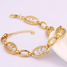 Custom Gold Bracelets Fashion Wristbands New Model Of Gold Bracelets 24hours Custom