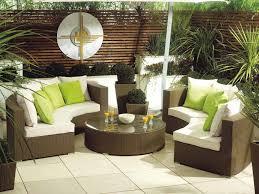 monaco large rattan sofa set semi circle garden furniture semi