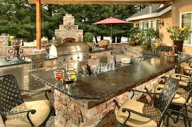 Outdoor Island Lighting Custom Semi Custom Outdoor Kitchens Galaxy Outdoor