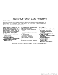 nissan frontier 2001 d22 1 g owners manual