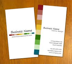 Interior Design Businesses by Free Business Card Templates