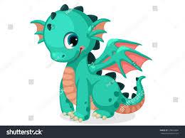 cute dragon cartoon stock vector 574663804 shutterstock
