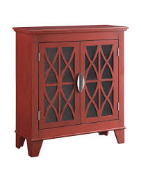 Accent Cabinets by Simple But Important Things To Remember About Red Accent