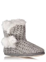 womens boots asda knitted slipper boots george