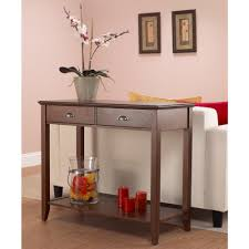 foremost sheridan walnut storage console table csh10222 fmcd the