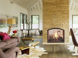 Indoor Outdoor Wood Fireplace Double Sided - unique fireplace idea gallery heat u0026 glo