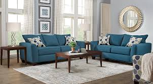 blue living room set bonita springs blue 5 pc living room living room sets blue