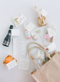 wedding welcome bags contents what to put in wedding welcome bag it girl weddings