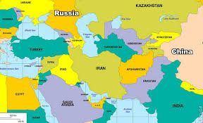 russia map border countries countries bordering iran map