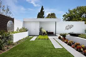 modern outdoor wall with metal frame exterior contemporary and