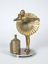 impressive figural deco ronson touch 1936 deco the bartender ronson touch tip table lighter ebay