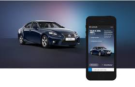 lexus uk configurator lexus mobile car configurator u2014 nick pilling