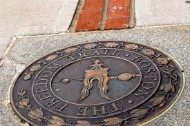 Freedom Trail Map Boston by Freedom Trail History And Information Guide