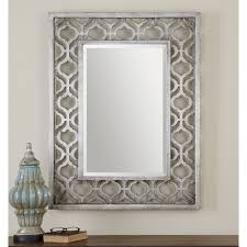 cosmic rectangle wall mirror 25 5w x 35 5h in hayneedle
