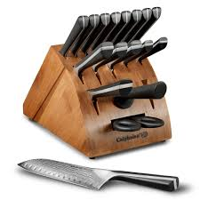 calphalon katana knife block set 18 piece cutlery and more