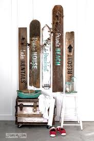 themed signs make your own rustic lake and bed breakfast signs