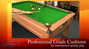 Snooker Cushions Traditional Slate Bed Pool Table Youtube