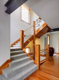 Wooden Stair Banisters Floor And Deck Also Stairs Psykoptic Com
