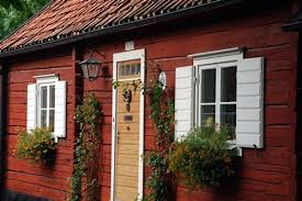 traditional swedish homes swedish houses continue to be painted