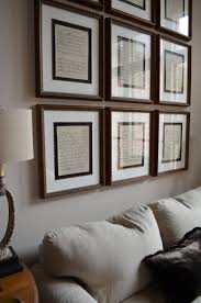 Home Interiors And Gifts Framed Art Best 25 Framed Sheet Music Ideas On Pinterest Sheet Music
