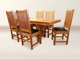 Arts And Crafts Dining Room Set Arts And Crafts Dining Table U2013 Rhawker Design