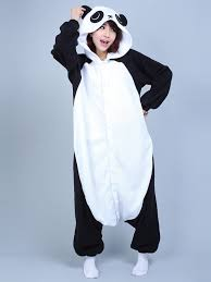 panda animal onesie kigurumi pajama fancy costume mall