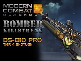 modern combat 5 blackout bomber kill streak ds 1310 pro tier