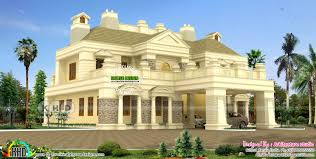 colonial home design luxury 5 bedroom colonial home kerala home design and floor plans