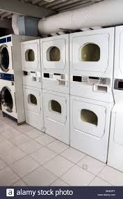 Cloths Dryers Self Service Clothes Dryers Stock Photo Royalty Free Image