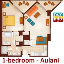 Bay Lake Tower One Bedroom Villa Floor Plan Aulani A Disney Resort U0026 Spa Dvcinfo Com