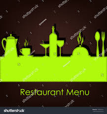 sample menu restaurant cafe stock vector 110679614 shutterstock