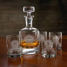 engraved barware for men engraved barware