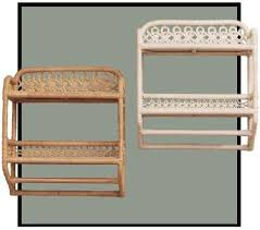 Wicker Bathroom Wall Shelves Wicker Bathroom Wall Shelf Wicker Wall Cabinet