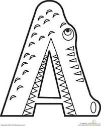 free alphabet coloring pages free and activities