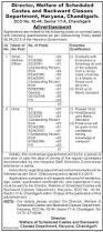 wscbcd recruitment 2017 apply offline 52 tehsil welfare officer