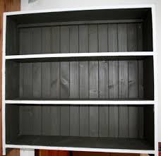 french script bookcase