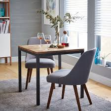 Square Dining Room Table by Box Frame Square Dining Table U2013 Wood West Elm