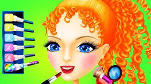 Makeup Hair Salon Princess Makeover Kids Games Fun Makeup Hair Salon For Girls