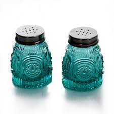 kitchen canister sets walmart amazon com the pioneer woman adeline glass cookie jar turquoise