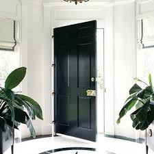 black marble foyer floor design ideas