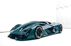 teal car lamborghini u0027s new electric car doesn u0027t need a battery can self