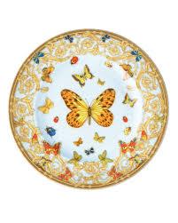 butterfly platter versace butterfly garden dinnerware