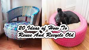 How To Use Old Tires For Decorating 20 Ideas Of How To Reuse And Recycle Old Tires Youtube