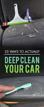 home products to clean car interior 23 ways to make your car cleaner than it s been cleaning