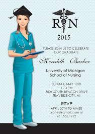 nursing graduation announcements rn graduation announcements career catalog