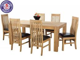 48 Dining Table by Buy Colux Wooden 6 Seater Dining Table With Chairs Online In Assam