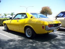 yellow toyota the toyota enthusiast yellow 74 celica