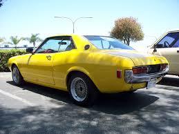 yellow toyota the toyota enthusiast yellow 74 celica