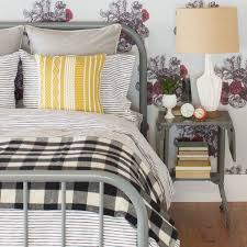 painterly stripe duvet cover schoolhouse electric duvet and