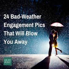 wedding quotes rainy day 24 couples who didn t let bad weather ruin their engagement photos